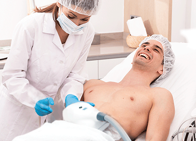 Kriolipoliza Cooltech™ dla mężczyzn